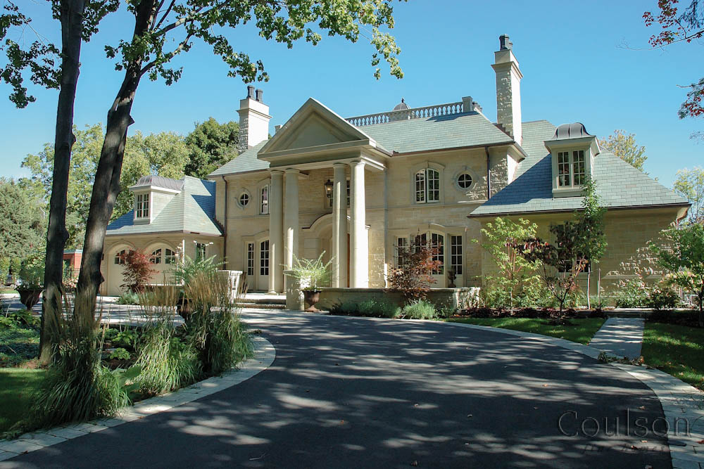 Neo classic custom home builder toronto oakville for Classic builders