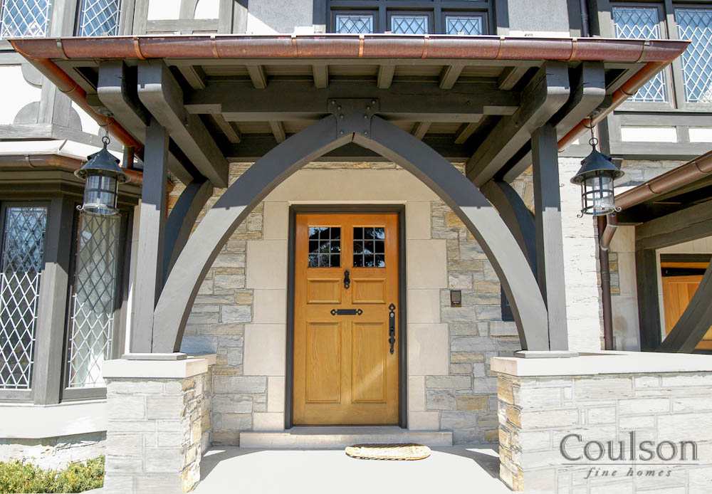 arts crafts architectural style custom home builder toronto