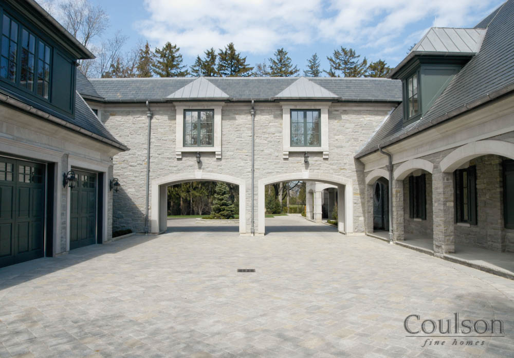 english country architectural style custom home builder toronto