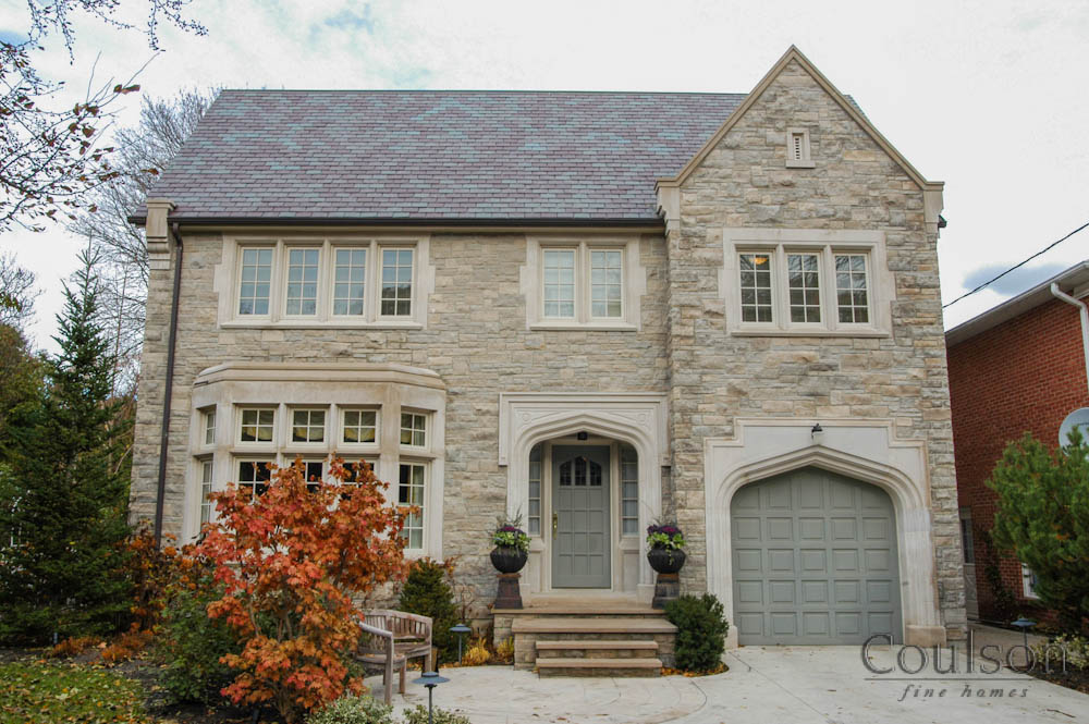Jacobean architectural style custom home builder for Custom stone homes